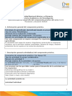 Fase 3 - Componente Práctico - Diagnóstico Psicosocial en El Contexto Educativo.