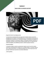 El papel de la teoría en la psicología anormal CAP-3