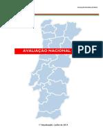 Avaliação Nacional de Risco Em Portugal Pela Proteção Civil