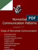 EFP 643 Nonverbal Language