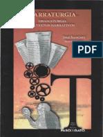 Libro  -  Narraturgia- dramaturgia de textas narrativos- José Sanchis