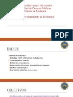 Tema 9.- Origen de La Bioética