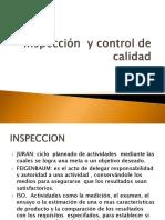Inspeccion y Cartas de Control