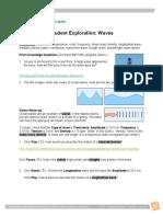 Virtual Lab Waves Student Exploration Copy Copy Copy