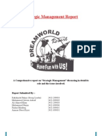 Strategic Management on Dreamworld (Final)