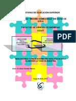 Indicaciones y orientaciones metodológicas para la tesis de maestría