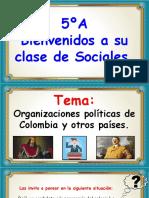 Organización Política de Colombia y Otros Países