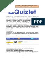 Quizlet Manual de Usuario