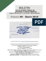 Bolet_n AGCPSM h12o - N_ 60 (Ene 2019)