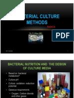 Bacterial Culture Methods