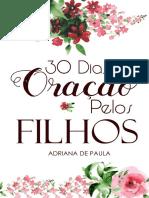 Ebook 30 Dias de Oração pelos filhos - Izabel