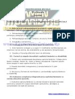 Www.examentitularizare.ro Psihopedagogie Speciala Titularizare