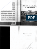 MORAES, Antonio Carlos Robert. Bases Da Formação Territorial Do Brasil