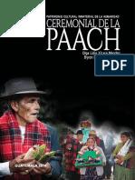 2014 - Ceremonial-De-la-Paach - Olga Lidia Xicará Méndez