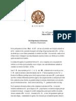 Acta Aniversario del Ara Kyón de Tucumán