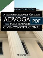 Livro edufes a responsabilidade civil do advogado sob a perspecitiva civil constitucional