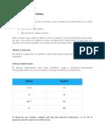 Reglas gramaticales del italiano