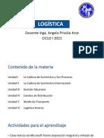 Presentación LOG115 Ciclo I 2021