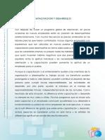 Lectura - Capacitacion y Desarrollo