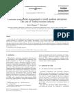 4.Customer relationship management in       small–medium enterprises