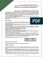 1-TEORIA-CARGAS ELECTRICAS - LEY DE COULOMB - CAMPO ELECTRICO