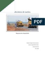 Mecánica de suelos trabajo maquinas de compactación
