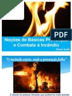 Combate a incêndio ETP