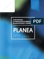 PLAN Reduccion Embarazo Adolescente Guatemala