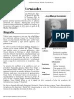 José Manuel Hernández - Wikipedia, la enciclopedia libre