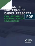 Manual de proteção de dados pessoais para gestores e gestoras públicas educacionais
