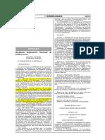 """D.S. Nº 005-2014-VIVIENDA - RNE A.010 """"Condiciones Generales de Diseño"""" EM.030 """"Instalaciones de Ventilación"""" E.010 """"Madera"""" CE.030 """"Obras Especiales y Complementarias"""""""