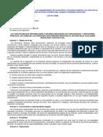 Ley Nº 27588 - Ley que establece prohibiciones e incompatibilidades de funcionarios y servidores y reglamento D.S. Nº 019-2002-PCM - Reglamento
