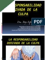 LA CULPA-RESPONSABILIDAD LEGAL-MEDICINA-