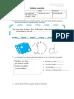 Guía de Lenguaje letra d