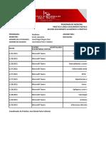 Formato de Record y Turnos Medicina 2021-1