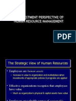 Chapter 1 - An Investment Perspective of HRM