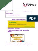 8o Ano - Resumo Da Apostila 1 - PORTUGUES