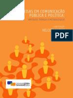 Pesquisas em comunicação pública e política vertentes teóricas e metodológicas