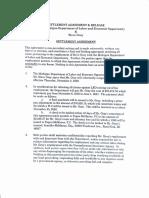 Steve Gray agreement