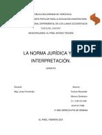 ENSAYO NORMA JURIDICA