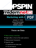Topspin Marketing with Data_MIDEM