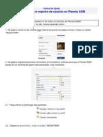Como criar um registro de usuário no Planeta ADM