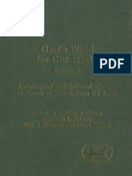 Gods Word for Our World, Volume 2 Theological and Cultural Studies in Honor of Simon John de Vries (Journal for the Study of the Old Testament Supplement Series JSOT.S 389) by Deborah L. Ellens, Rolf (Z-lib.org)