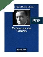Hector Hugh Munro Saki - Cronicas de Clovis