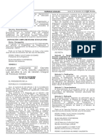 D.S. 014-2017 , Reglamento Del D.L 1278