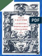 Italo Calvino - Cuentos populares italianos (Vol. II)