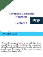 Advanced CN Lecture 1