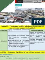 Diapositiva El Caos Vehicular 2do