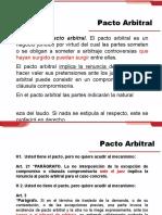 pacto arbitral