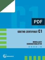 C1 Goethe-Zertifikat